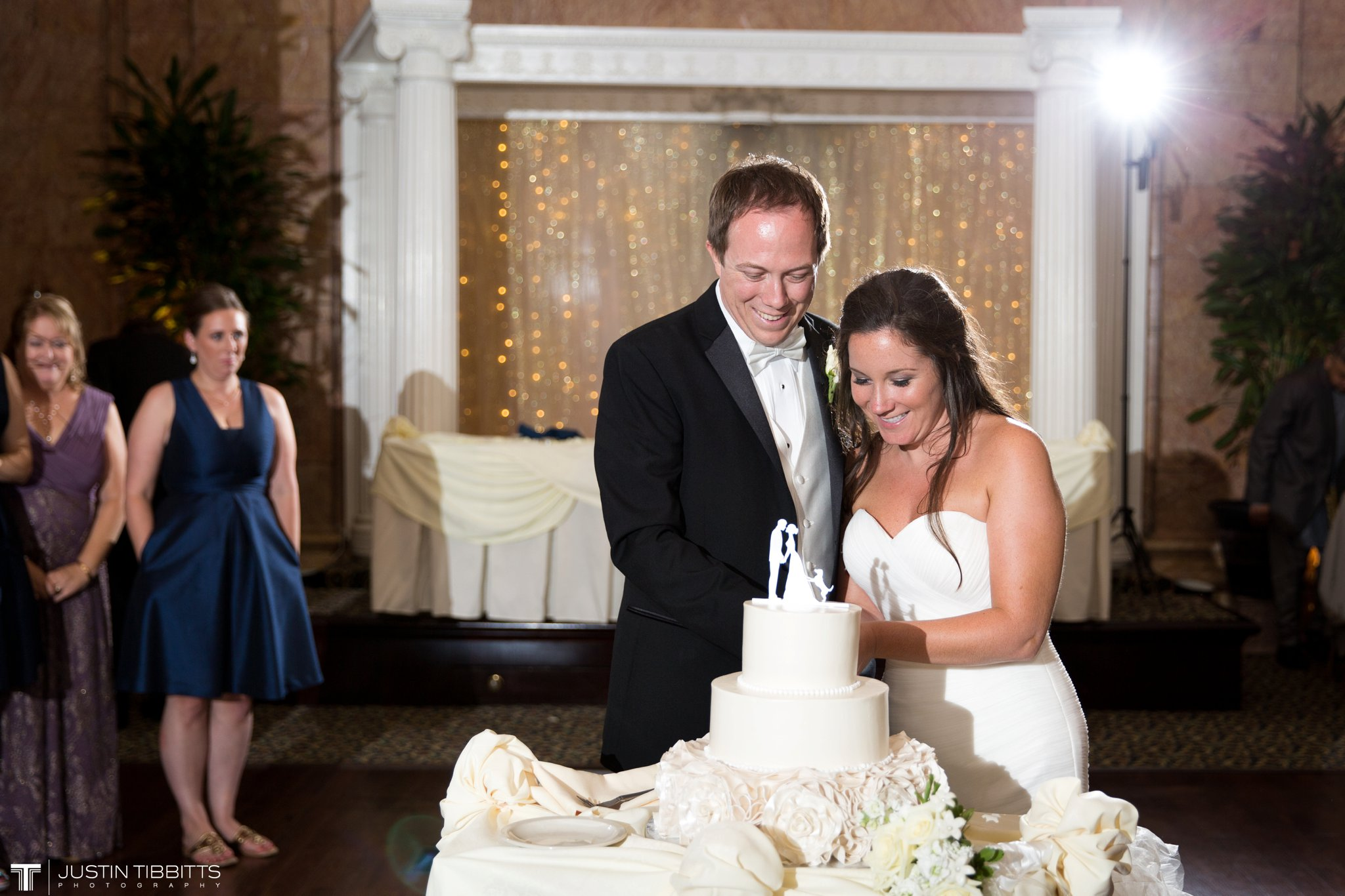The State Room Albany, NY Wedding with Christian and Meg by Justin Tibbitts Photography_0151