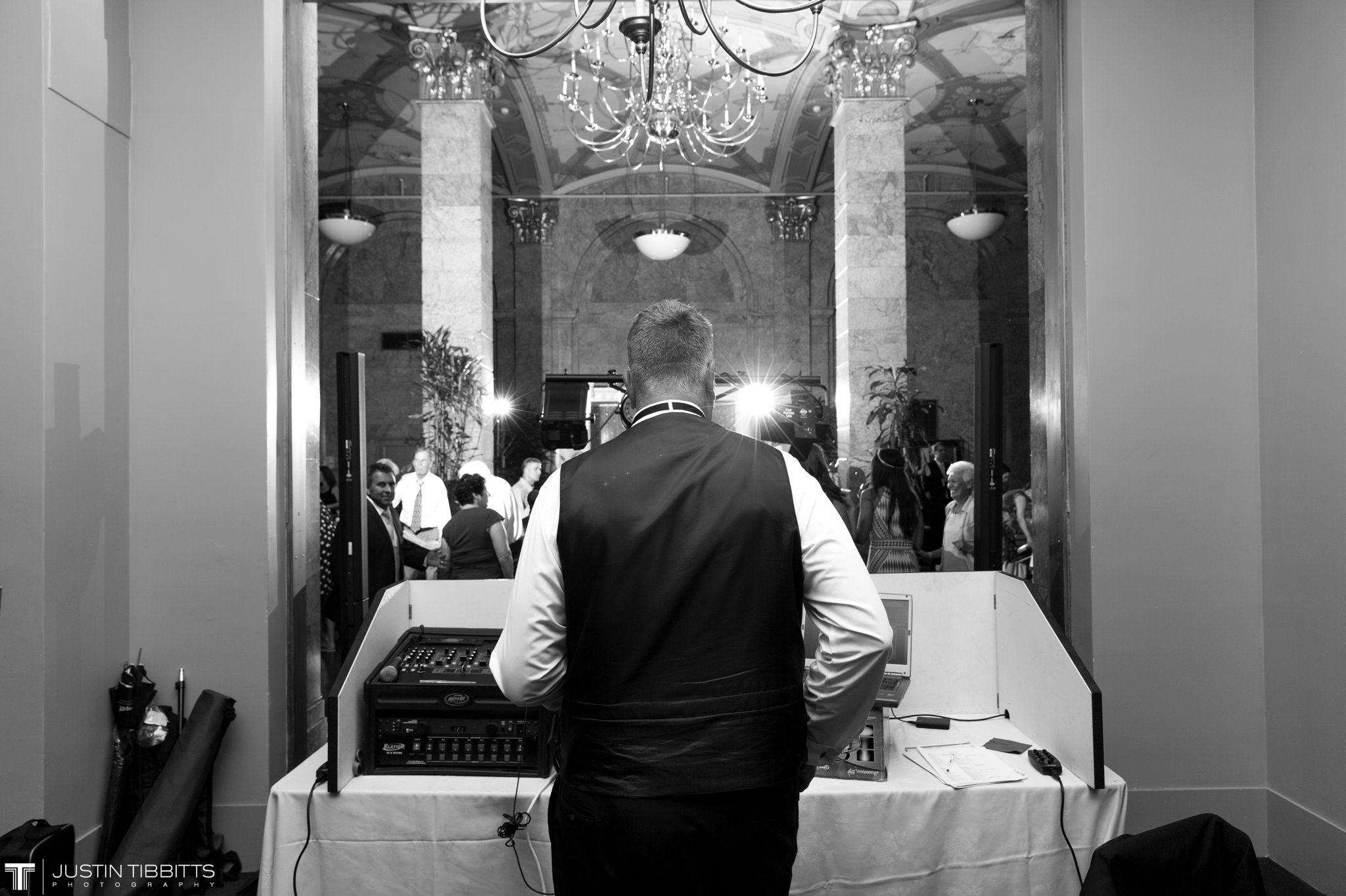 The State Room Albany, NY Wedding with Christian and Meg by Justin Tibbitts Photography_0159