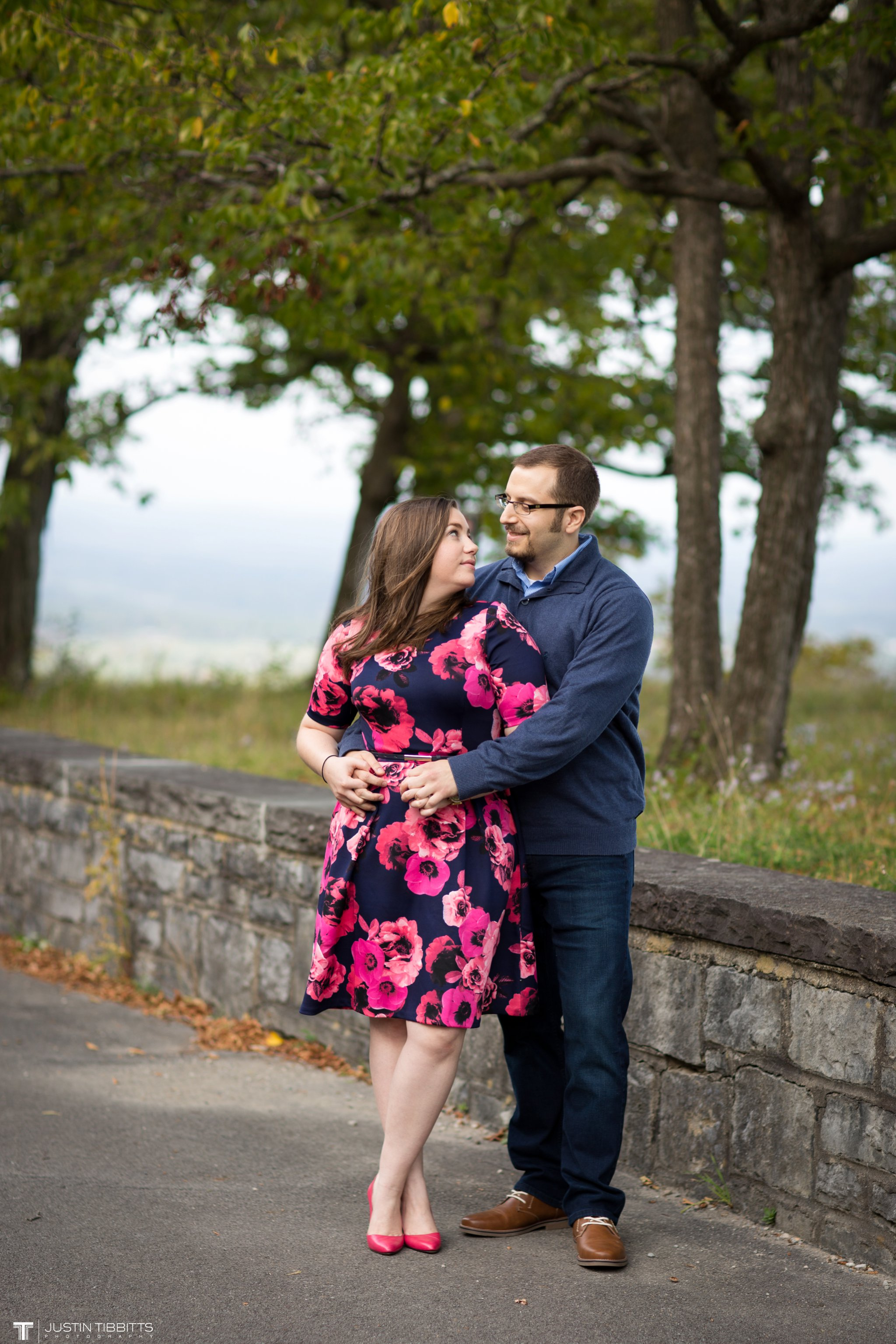 Virginia and George's Thatcher State Park Engagement Shoot_0167