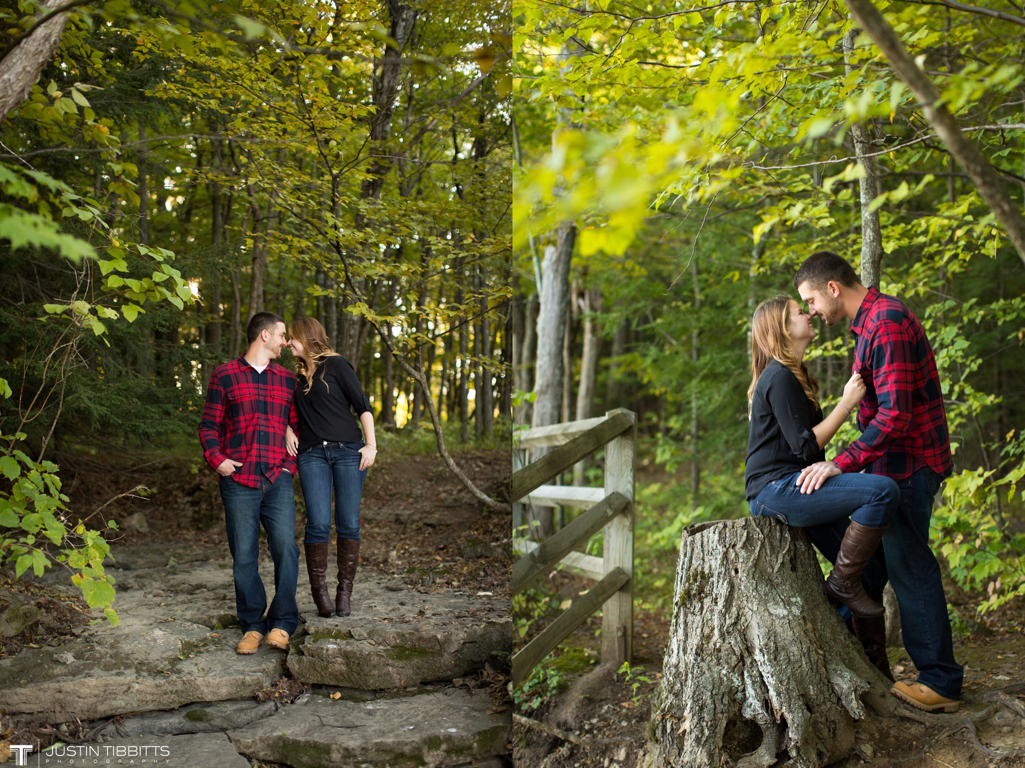 Agata and Seth's Thatcher Park Engagement Shoot_0016