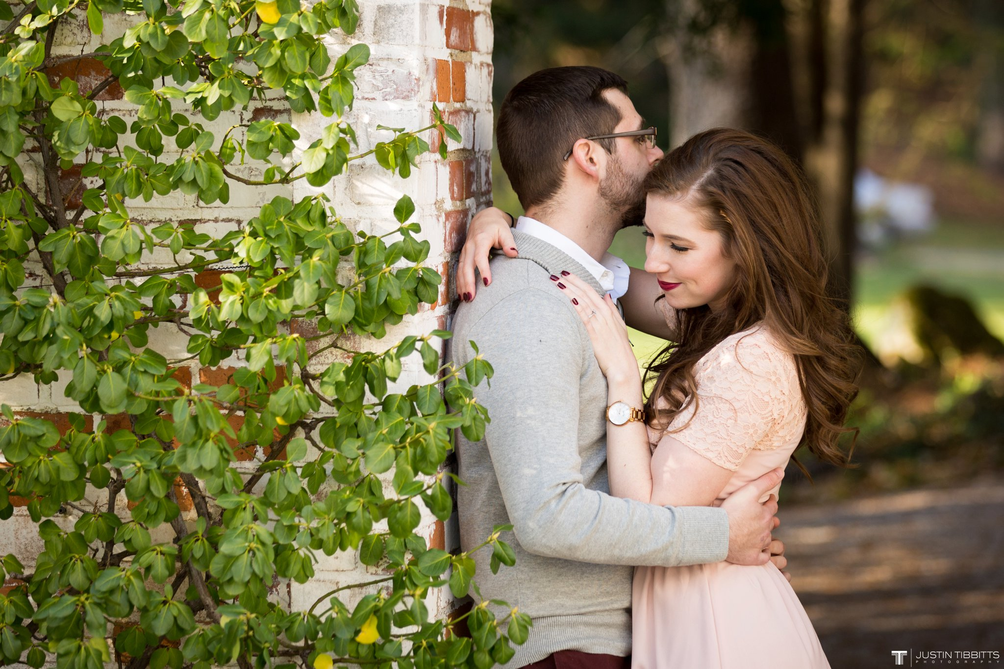 Amber and Zack's Engagement Shoot at The Mount, Lenox MA_0002