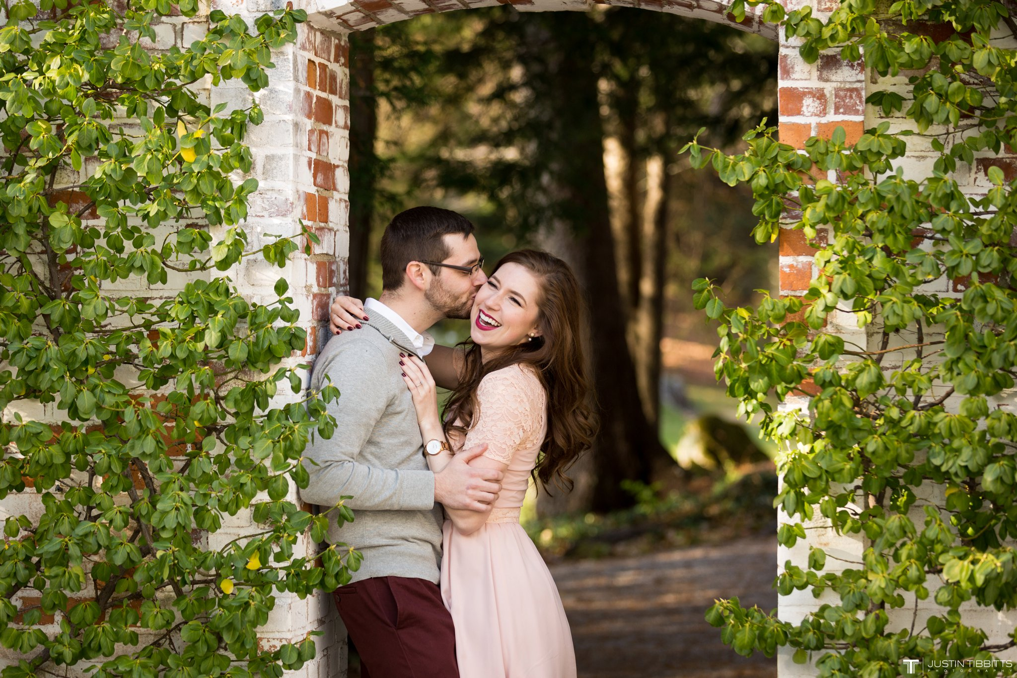 Amber and Zack's Engagement Shoot at The Mount, Lenox MA_0005