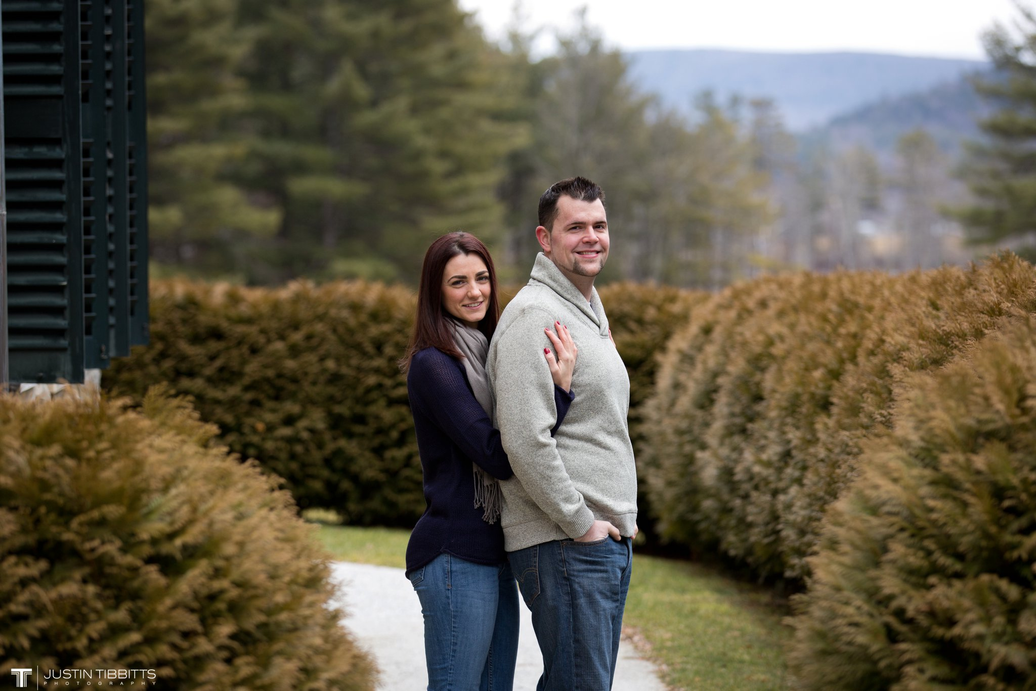 Lauren and Jordan's Engagement Photos at The Mount, Lenox,MA_0008