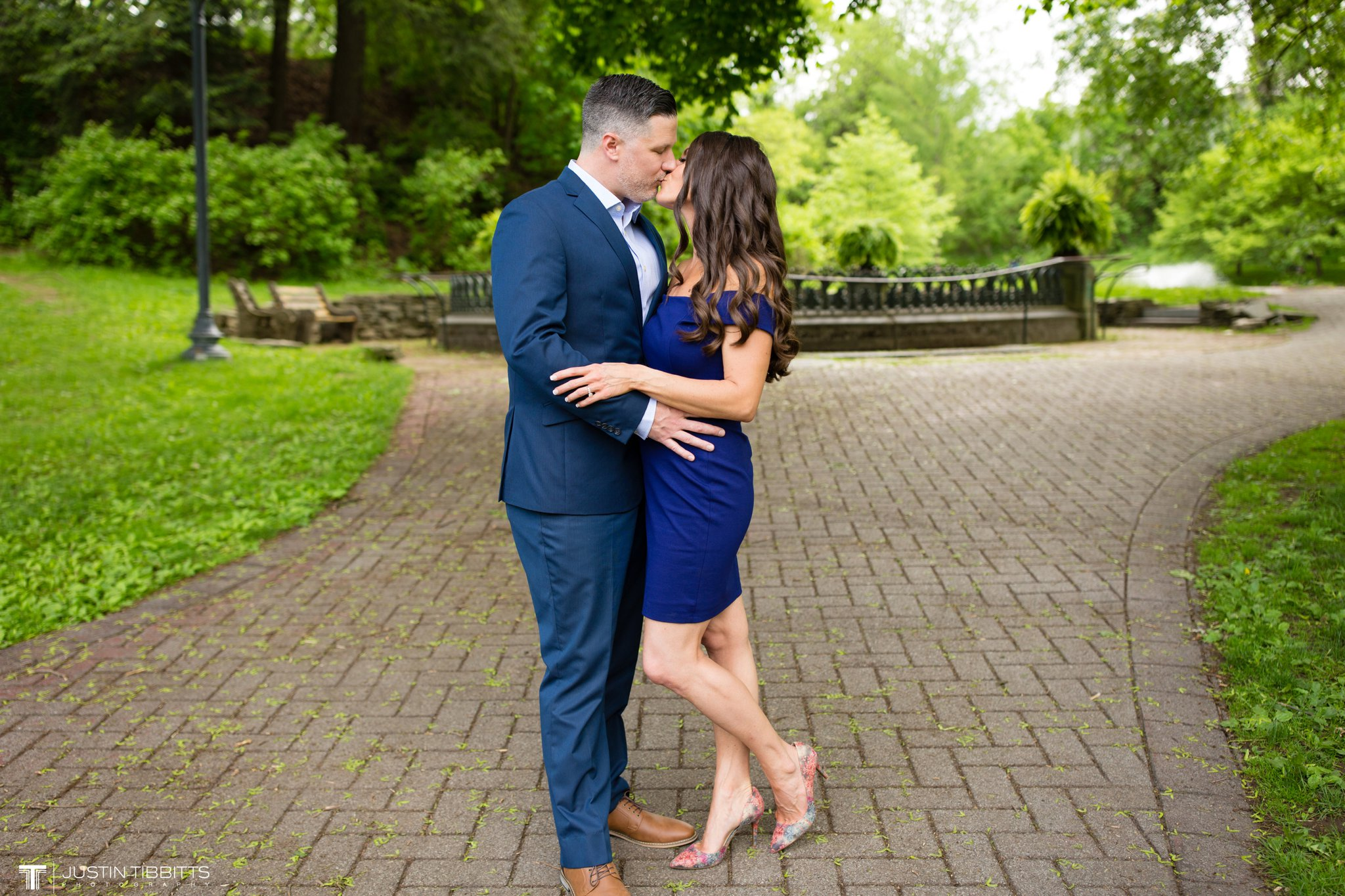 Saratoga Springs Congress Park Engagement Photos with Christie and Mike_0008