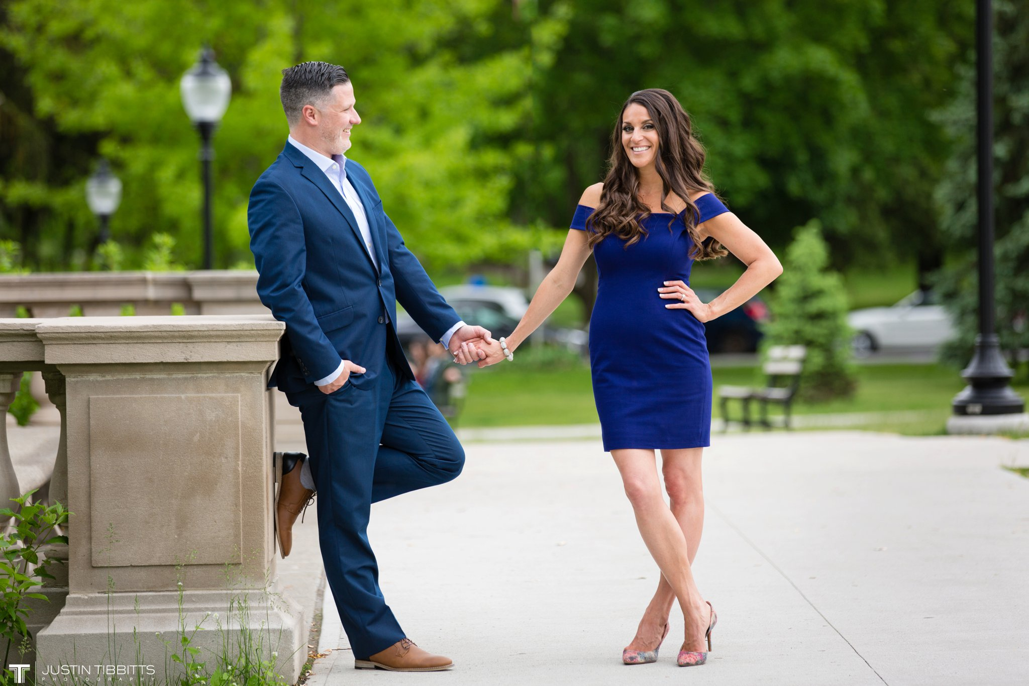 Saratoga Springs Congress Park Engagement Photos with Christie and Mike_0018